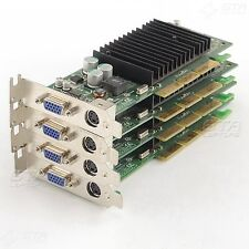 Lot of 4 HP 322891-001 319956 GeForce MX440 64MB AGP VGA Video Card