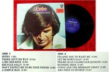 LP Lobo Of a simple Man incl I´d love you to want me