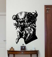 Predator Wall Decal Mortal Kombat Superheroes Vinyl Sticker Decor Mural 130zzz