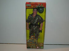 "ACTION MAN / GI JOE KO - 'SOLDIER FORCE' 12"" SOLDIER w/ ARMY GEAR MISB 1990s"