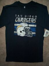 NFL VINTAGE COLLECTION San Diego Chargers Jersey Shirt YOUTH KIDS BOYS m-medium