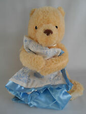 New Infant Winnie the Pooh Musical Plushy Disney Store with blanket and toy.