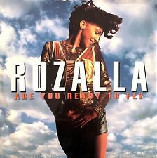 """Rozalla 12"""" Are You Ready To Fly - England (VG/EX)"""