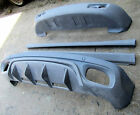 porsche cayenne 955 Front & Rear Bumper Add-on body kit with FREE SKIRTS