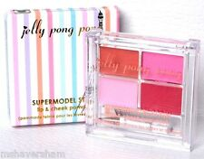 NIB Jelly Pong Pong SUPERMODEL STAIN Lip Cheek Pomade RUNWAY Palette Pinks