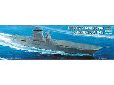 TRUMPETER SCALE MODELS TSM-5608 1/350 USS Lexington CV2 Aircraft Carrier
