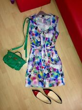 Genuine MULBERRY Fuzzy Floral Dress UK 10 - mini cabage green alexa bag sold sep