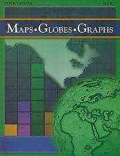 Maps, Globes, Graphs: Student Workbook Adult's Book 1 Adult's Book 1 by STECK-V