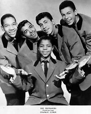 """Frankie Lymon and the Teenagers 10"""" x 8"""" Photograph no 1"""