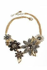 Amrita Singh  Della Floral Evening Necklace NKC5051 WIth Tags & Box $75