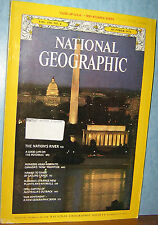 NATIONAL GEOGRAPHIC OCT 1976 POTOMAC;CANADA;TAHITI SAILING CANOE;FLORIDA;OPALS;