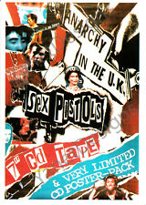Sex Pistols Postcard Photo Anarchy In The UK Original Issue Collectable 4x6