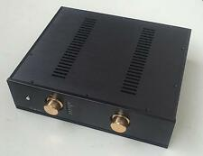 Black Empty Preamplifier Chassis Aluminum Enclosure Integrated Circuit PCB Case