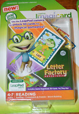 Leap Frog Imagicard Letter Factory Adventures LeapPad Reading Digital Game (4-7)