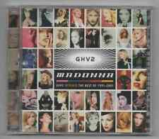 Madonna GHV2 Remixed Limited Edition 2001 Rare Promo 2 Disc CD