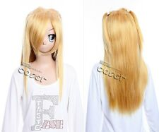 W-302 DEATH NOTE Misa Amane COSPLAY ANIME MANGA Wig heatproof blonde 63cm