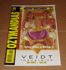DC Comics Before Watchmen Ozymandias #2 Phil Noto Variant Edition 1st Print
