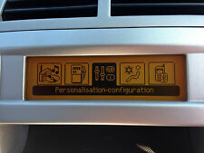 Peugeot 308 RD4 Radio LCD Multifunction Display screen Brand New