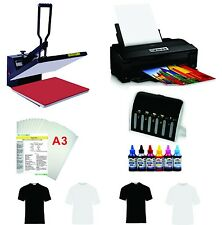 16x24 T-shirt Heat Press  Machine Epson Printer 1430 CISS KIT
