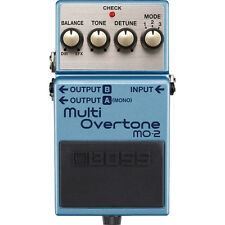 BOSS MO-2 Multi Overtone Generator Stereo Outputs Guitar Effects Stompbox Pedal