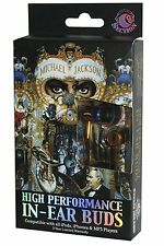 Section8 Michael Jackson (Dangerous) In-Ear Headphones - Window Box - Gold/Black
