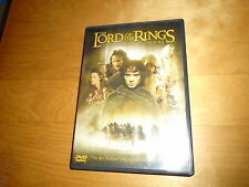 THE LORD OF THE RINGS - THE FELLOWSHIP OF THE RING DVD, Cert PG, 2 discs