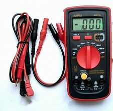 LCD Capacitance Capacitor Meter Tester Multimeter 200pF to 20mF A6013L