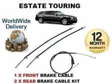 FOR CHRYSLER 300C TOURING ESTATE 2005-  NEW 1x FRONT + 2x REAR HAND BRAKE CABLE