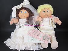Vintage Cabbage Patch Kids ~ Wedding Bride & Groom Set ~ Tsukuda JAPAN