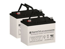 Pack of 2 - SigmasTek 12V 35AH Group U1 Deep Cycle Sealed Batteries