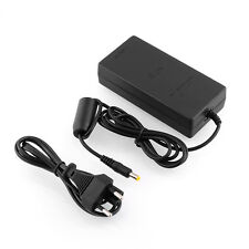 Hot EU plug AC Adapter Charger Power Supply Cord For Sony PS2 Slim Black