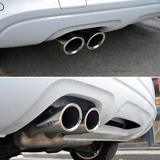 For BMW 325i 328i 2007-2010 Exhaust Tail Pipe Muffler Tip Stainless Steel T0V1