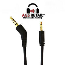PS4 TALKBACK CHAT CABLE FOR TURTLE BEACH® GAMING HEADSETS FOR PSN  - GOLD PLATED