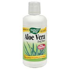 Nature's Way Aloe Vera Leaf Juice 33.80 oz (Pack of 4)