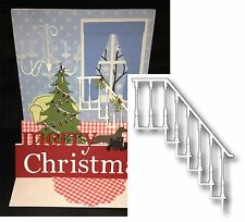 CLASSIC STAIR CASE Die MEMORY BOX metal dies 98665 All Occasion for cards