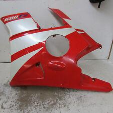 91 92 93 94 HONDA CBR 600 F2 F-2 HURRICANE LEFT FAIRING LOWER  64351-MV9 630 670