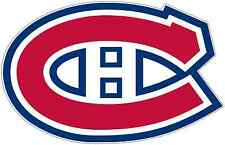 "Montreal Canadiens NHL Hockey Car Bumper Locker Notebook Sticker Decal 5""X3.5"""