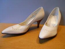 Nos Vintage 1960s Naturalizer White Pumps Shoes Rockabilly Mod Retro High Heel 8