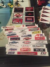 Slot Car Sponsorship Customize Kit