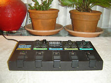 Korg Flanger, Graphic Eq, Analog Delay, Chorus, with PME 40X, Vintage Pedals