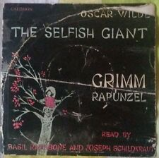 The Selfish Giant read by Basil Rathbone Vinyl Caedmon TCE 114 c/w Rapunzel