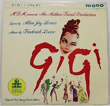 "GIGI No 2 SOUND TRACK EP 7"" Vinyl Single 45rpm VG+"