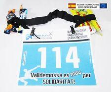 Cinta Portadorsal con portageles Running, Ironman,Triatlon, Triathlon, duatlon