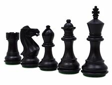 Hand Crafted Staunton Boxwood 32 Chessmen Pieces Chess Game Gift King Size 83 MM