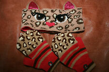 Little Girls SO Head Band and Mittens - Size 4-16