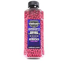 Valken Pink Airsoft BBs 6mm .25 gram 2500 count seamless high quality polished