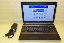 Dell Latitude E6520 2.70GHZ 8GB Core i7 320GB Laptop Windows 10 64 bit DVDRW