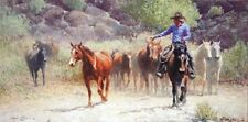 """Slowing the Pace"" Wayne Baize Limited Edition Giclee Canvas"