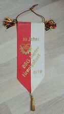 Banderín 30 años BSG Motor hennigsdorf DFV DDR 78 futbol Velten Bezirksklasse