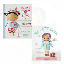 Shelly Down and Tone Finnanger Collection 2 Book Set My Felt Doll,Tildas Toy NEW